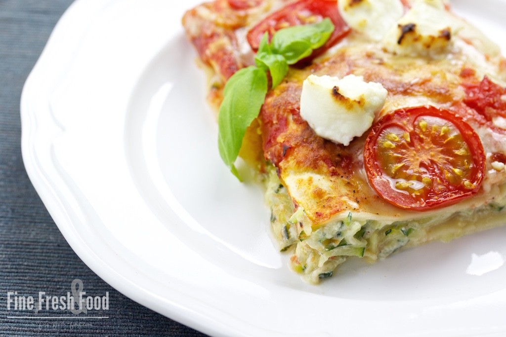 zucchini ricotta lasagne fine fresh food. Black Bedroom Furniture Sets. Home Design Ideas