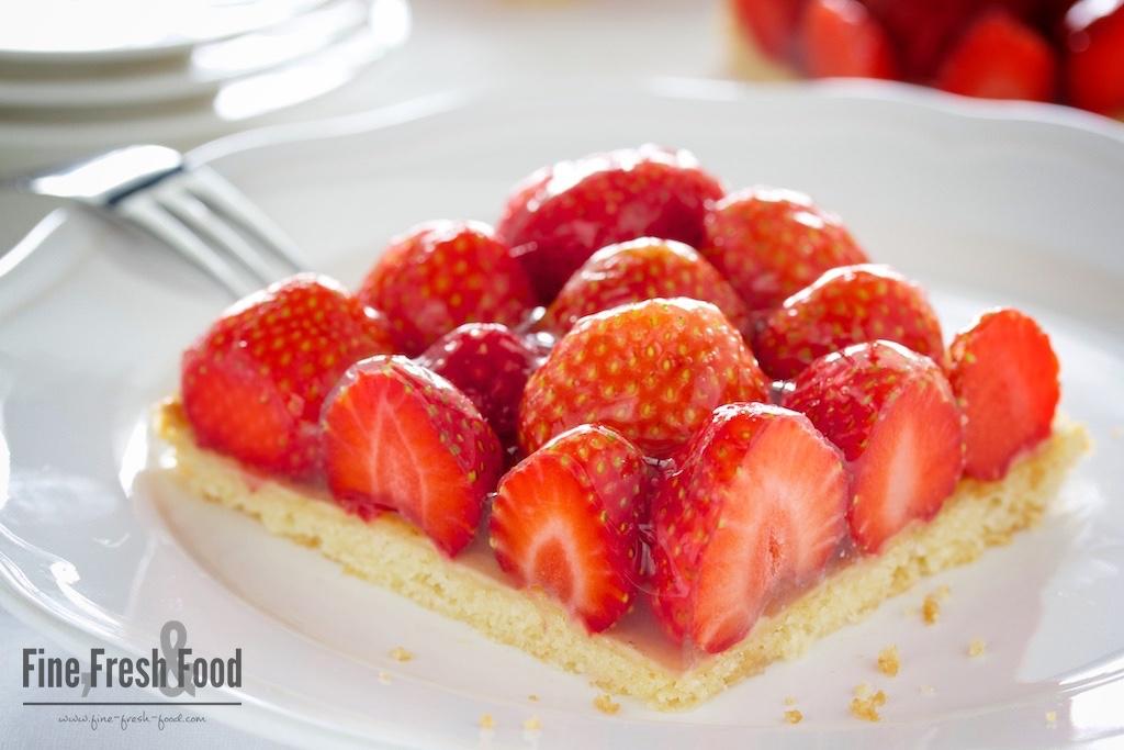 Erdbeer-Blechkuchen