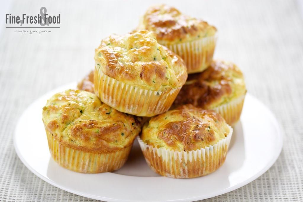 Zucchini-Parmesan-Muffins