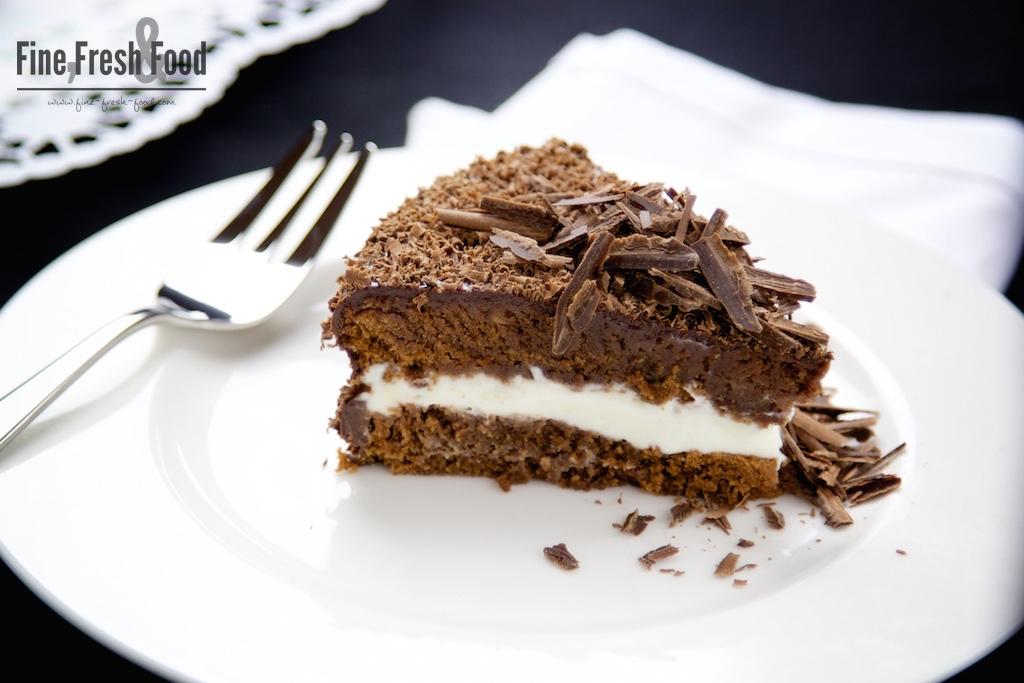 Schokoladen-Zitronencreme-Torte