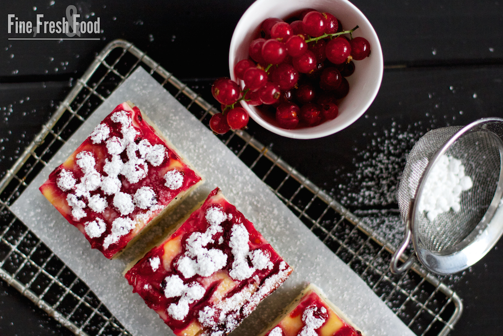 Johannisbeeren-Mohn-Kuchen
