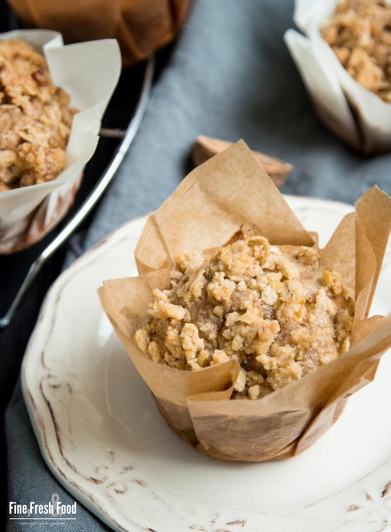 Hafer-Apfel-Muffins