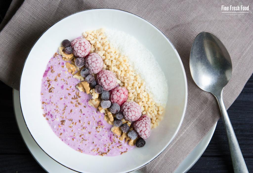 LCHF-Beeren-Frühstück
