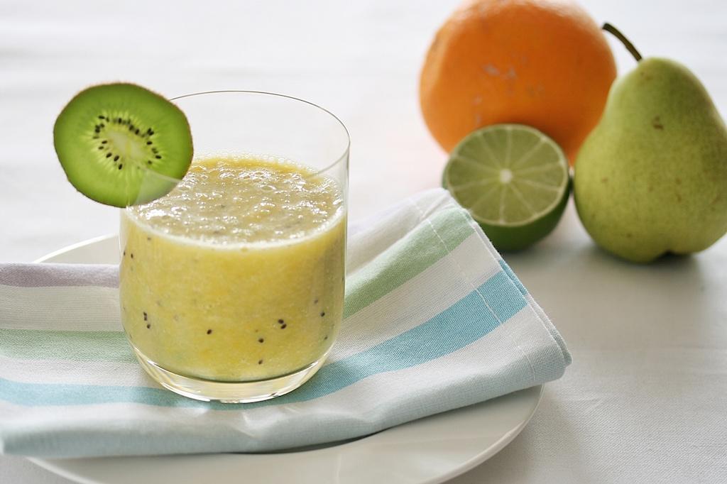 Kiwi-Banane-Smoothie