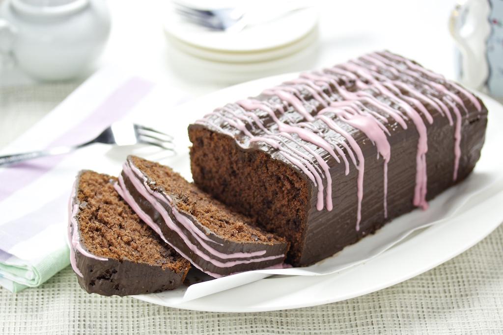 Rotwein-Schokoladen-Kuchen