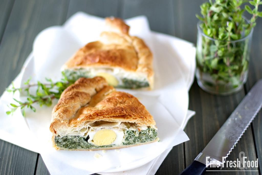 Torta Pasqualina – Genuesische Ostertorte