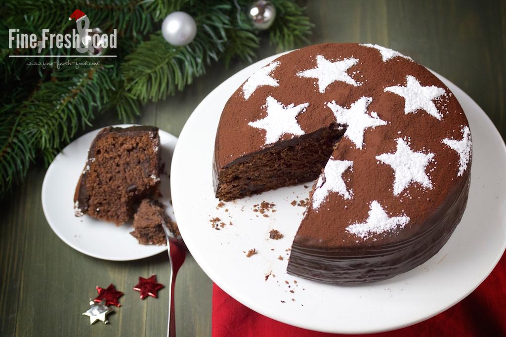 Glühwein-Schokoladen-Kuchen